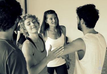 Ostrenko Physical Theatre Lab - May, 2014 - Italy photo: Inga Ryazanoff