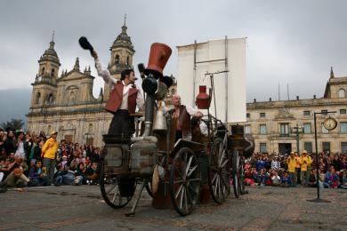 Humanum Fatum @ Festival Iberoamericano de Teatro de Bogotá (Colombia)