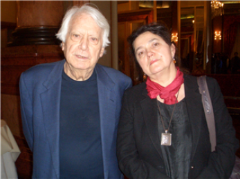 European Theatre Forum, Larisa Turea and Jorge Semprun